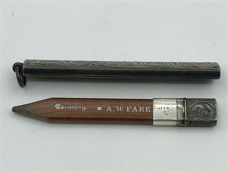 Vintage AW Faber German Sterling Silver Pencil