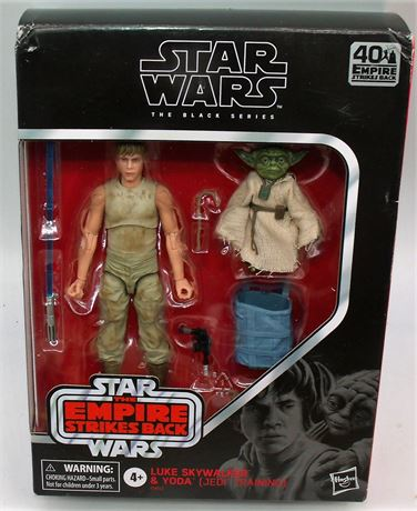 Star Wars Luke & Yoda figures