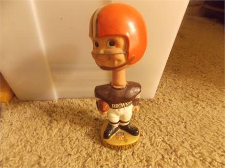 Vintage Cleveland Browns bobblehead - low grade