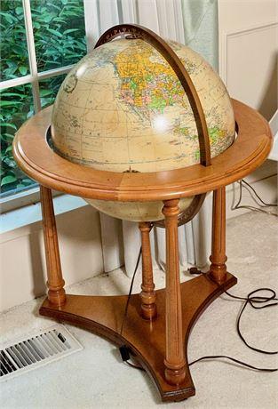 """Replogle """"Heirloom"""" Electric Floor Globe"""