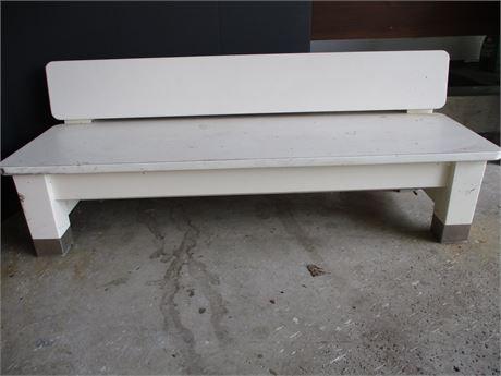 Low Heavy-Duty Bench