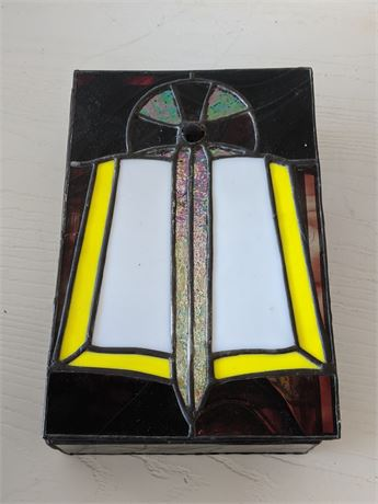 Stained glass case