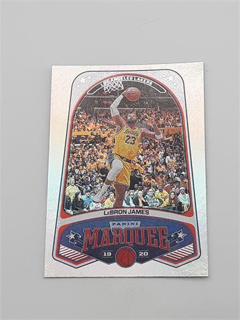Lebron James Lakers Panini #245 Basketball Card