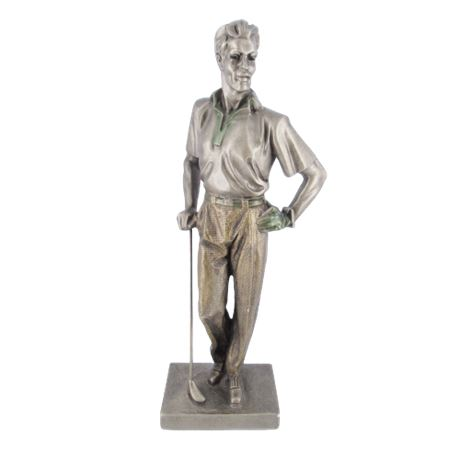 "Austin Sculpture Golfer the ""Back Nine"""