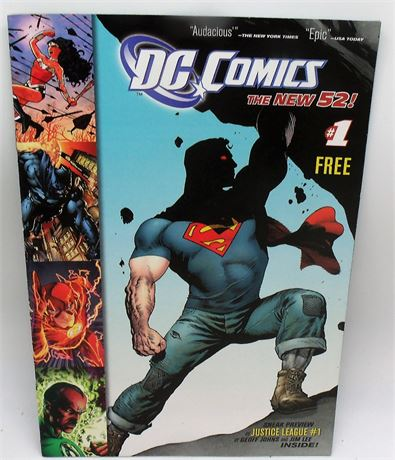 Issue 1 comic book DC THE NEW 52