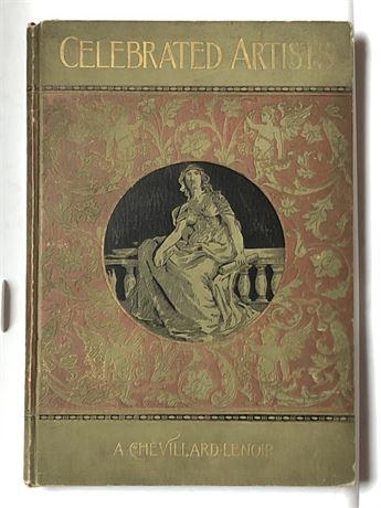 1880's Celebrated Artists A Chevillard-Lenoir Illustrated Art Plate Book
