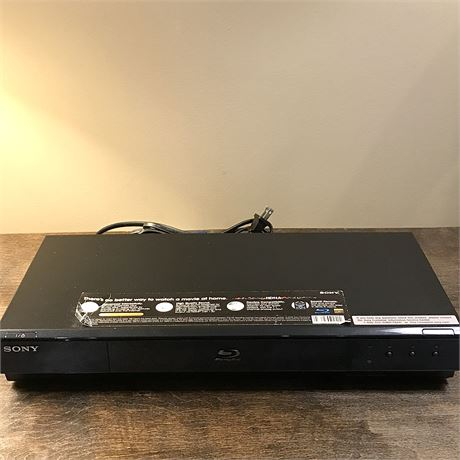 Sony 1080p Blu-ray Player - BDP-S550