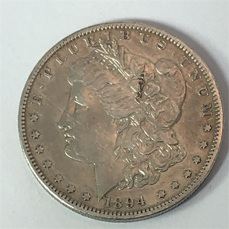 1894-O Morgan Silver Dollar Coin