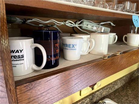 Coffee mugs+