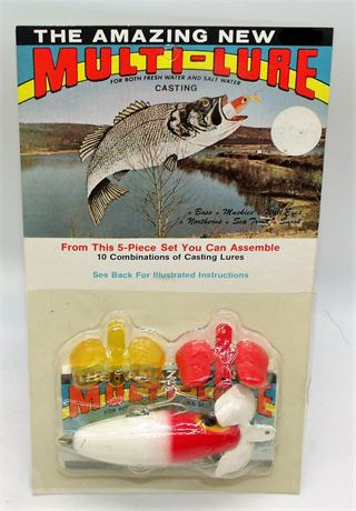 New old stock fishing lure