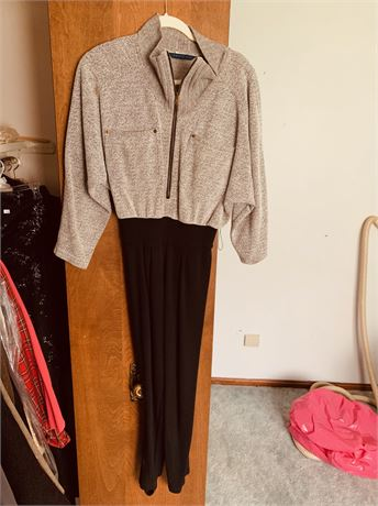 Brown/Tan Pant Suit size small