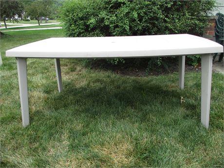 Rectangular Patio Dining Table