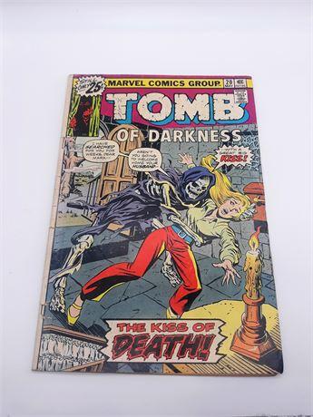 "Marvel Comics ""TOMB OF DARKNESS"" #20 Comic"