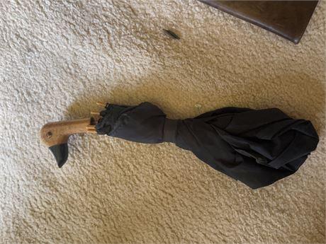 Vintage Duck handle umbrella