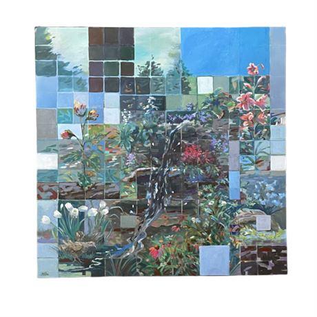 Anne Mitro Acrylic on Canvas Landscape