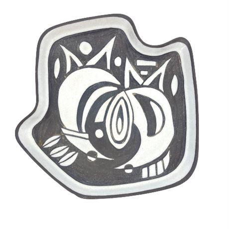 "Marianne Starck ""Tribal"" Series Plate No. 5519"