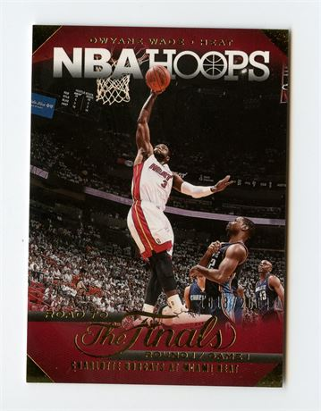 DWYANE WADE 2014-15 HOOPS ROAD TO THE FINALS 1818/2014 #15 MIAMI HEAT