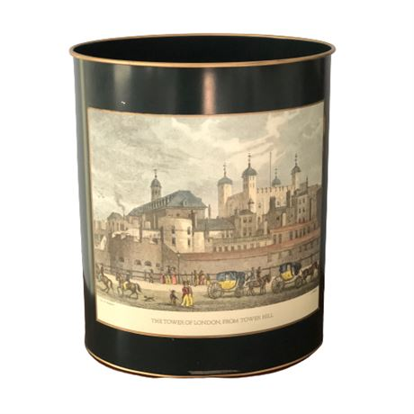 Decorative Waste Can 'Tower of London'