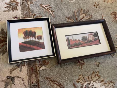 Decorative framed prints