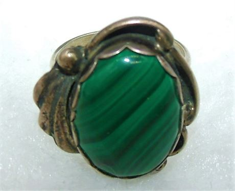 Sterling Indian JT ring