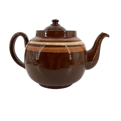 Vintage L B Made In England, Brown Betty Teapot