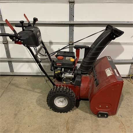 """Craftsman snowblower with 26"""" clearing width"""