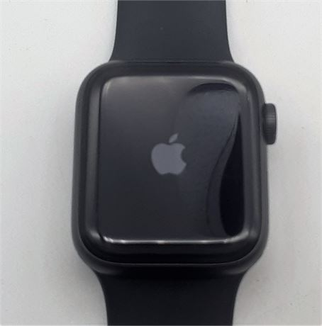 Apple Watch Series 6 40mm Graphite Stainless Steel Case Sport Band Works