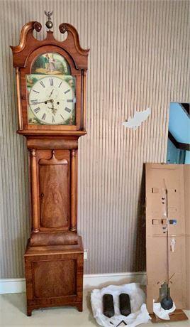 19th C George Lumsden Pittenweem Scottish Tall Case Clock