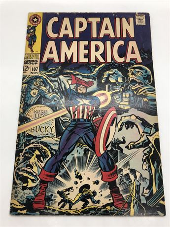 12C Captain America #107 Comic Book