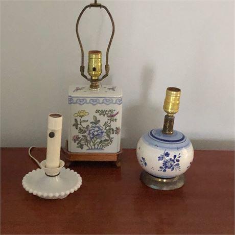 Petite Lamp Grouping