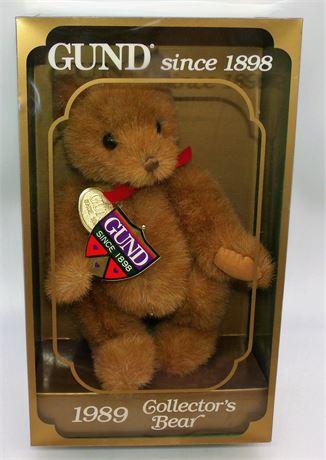 1989 GUND bear in box