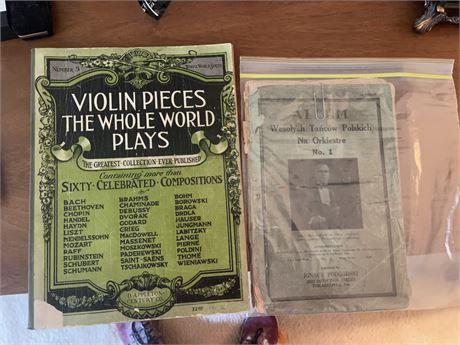 Vintage Violin Sheet music