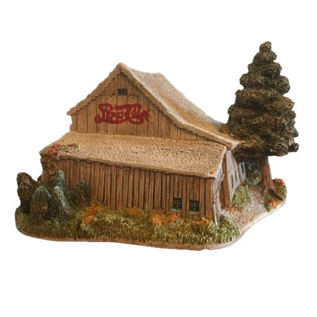 Lilliput Lane Landmarks - Pepsi Cola Barn