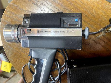 Vintage Belle Howell Focus-Matic Video Camera w/ Case
