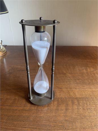 Hour Glass Brass