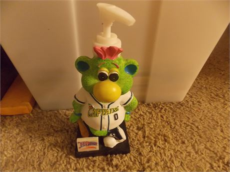 Lake County Captains Skipper mascot SGA soap dispenser