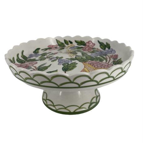 Meiselman Imports Italian Porcelain Cake Plate