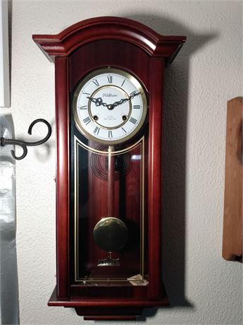 Waltham wall mounted clock