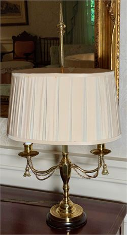Brass Candelabra Table Lamp