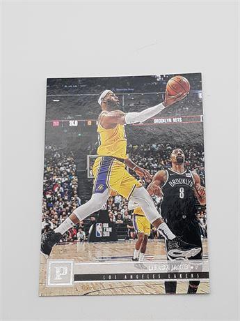Lebron James Lakers Panini #112 Basketball Card