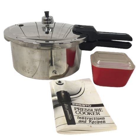 Lot of Houseware including Pressure Cooker