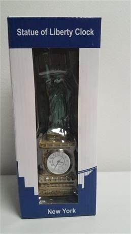 Statue of Liberty Clock, NIB