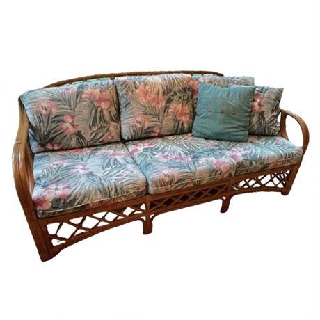 Lane Rattan Sofa