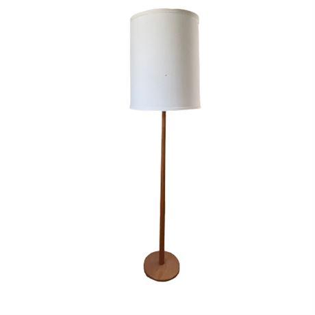 Mid Century Swedish Teak Floor Lamp