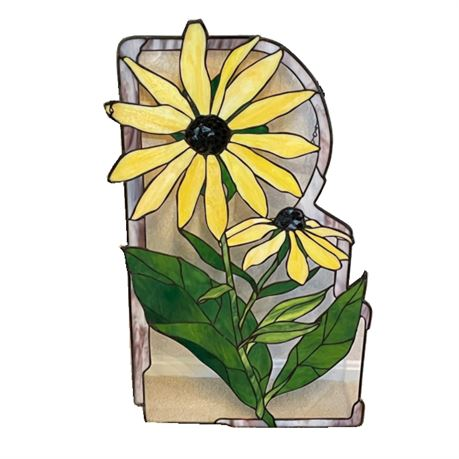 Joan Deveney Stained Glass Sunflowers