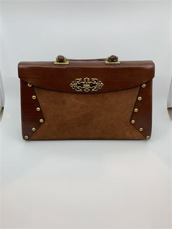 Town and Casual Vintage Leather Handbag