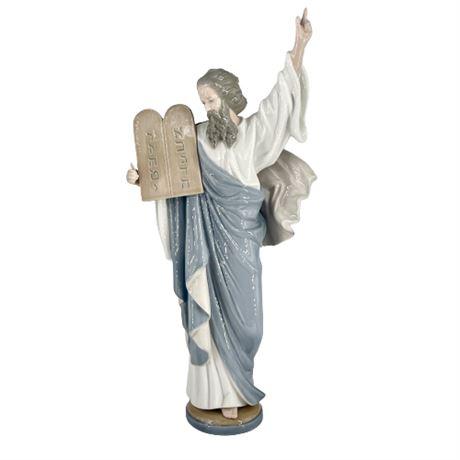 Lladro Moses 5170 Porcelain Figurine 1982