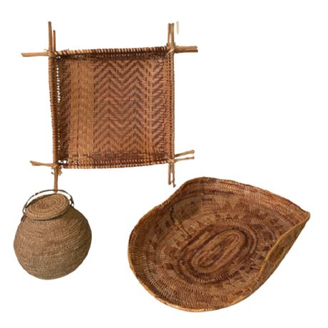Group of African Baskets