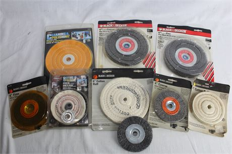 Wire Wheel Brushes and Buffing Wheels