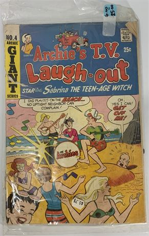 Archie Series - Archie's T.V. Laugh-out Comic Staring Sabrina The Teen-age Witch